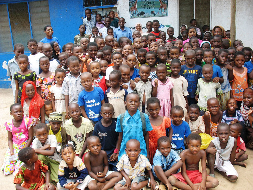 The children supported through the Mama Mkubwa program