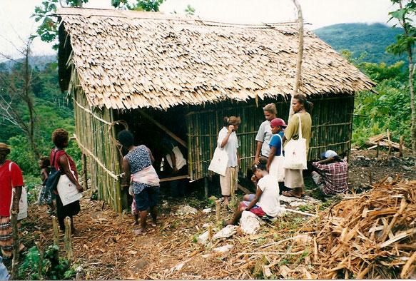 KYEEMA Solomon Island village